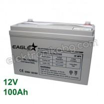 Акумулатор - гелов акумулатор 12V 100Аh Eaglestar
