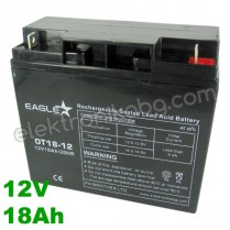 Акумулатор - Акумулаторна батерия 12V 18Аh Eaglestar