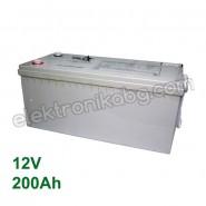 Акумулатор - гелов акумулатор 12V 200Аh Eaglestar