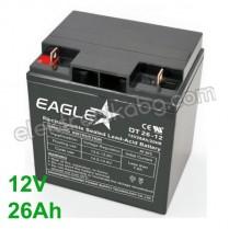 Акумулатор - Акумулаторна батерия 12V 26Аh Eaglestar