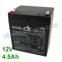 Акумулатор VRLA-AGM Акумулаторна батерия 12V 4,5Аh Eaglestar