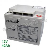 Акумулатор - гелов акумулатор 12V 40Аh Eaglestar