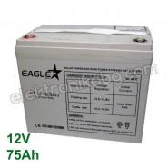 Акумулатор - гелов акумулатор 12V 75Аh Eaglestar