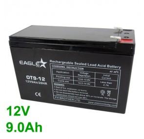 Акумулатор - Акумулаторна батерия 12V 9Аh Eaglestar