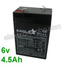 Акумулатор - Акумулаторна батерия 6V 4.5Аh Eaglestar