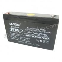 Акумулатор - Акумулаторна батерия 6V 7Аh