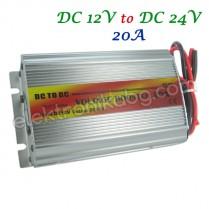 Конвертор от 12V на 24V 20A 480W