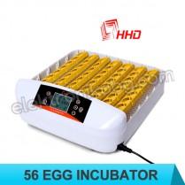 Автоматичен инкубатор за 56 броя яйца с LED просветка
