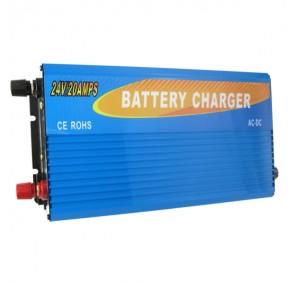 24V 20A Универсално зарядно за акумулатори G, S, F, LI
