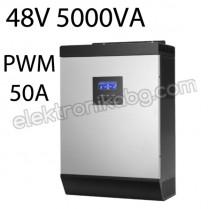 Хибриден соларен инвертор 48V 4000W