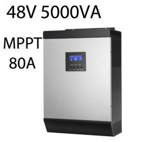 Хибриден соларен инвертор 48V 4000W MPPT 80A