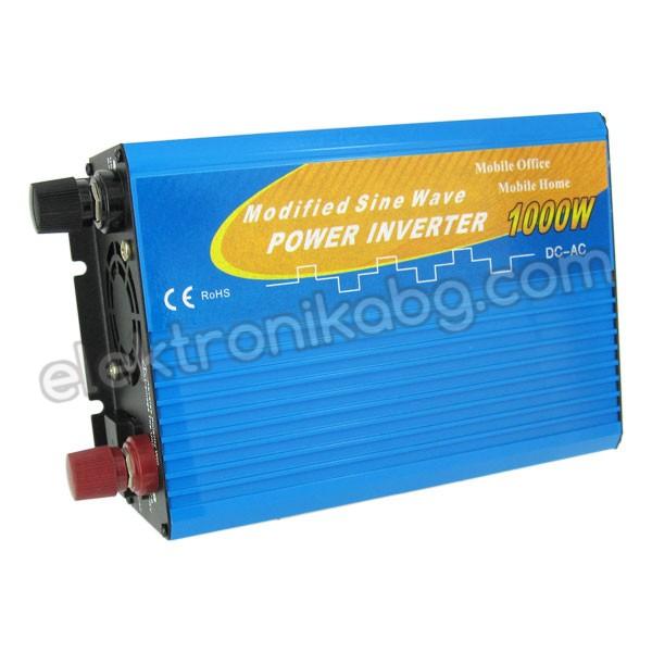 Инвертор 1000W / 12Vвход  220/ 240V изход