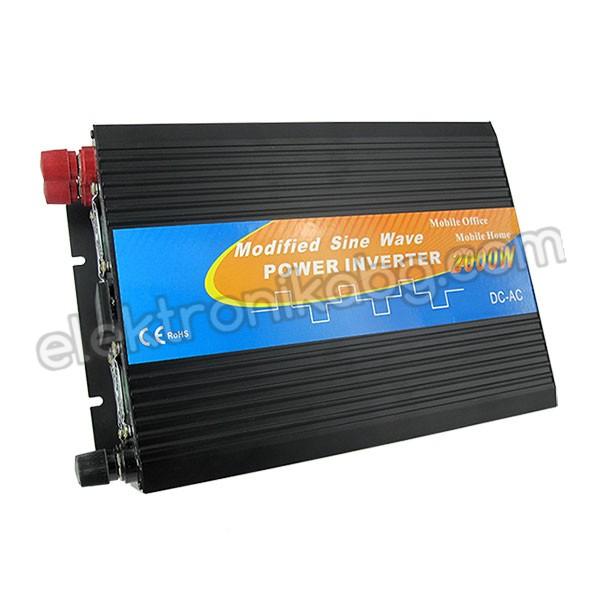 Инвертор 2000W / 12Vвход  220/ 240V изход