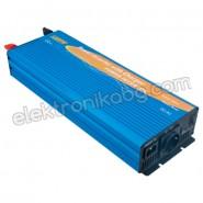 Синусоидален инвертор със зарядно UPS 12V 1000W
