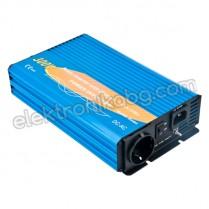 Синусоидален инвертор със зарядно UPS 12V 300W