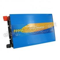 Синусоидален инвертор  12V / 2000W