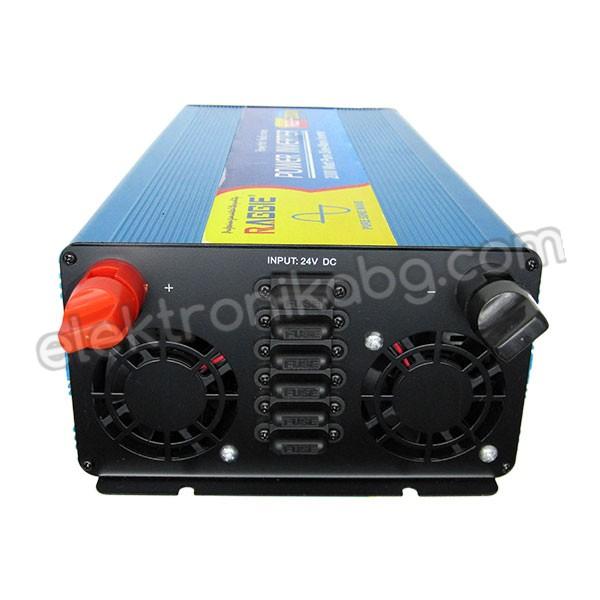 Инвертор пълна синусоида 24V / 2000W