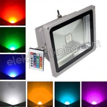 RGB LED прожектор 1led 30W / 220V