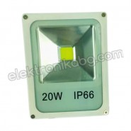 12V / 24V - 20W LED прожектор