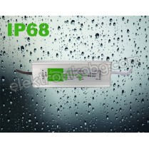 Водоустойчив LED захранващ блок   230VAC - 12VDC / 5A