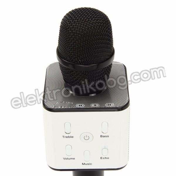 Безжичен микрофон с вграден говорител Q7
