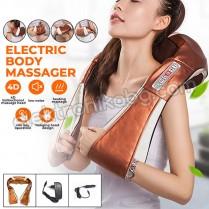 6D Шиацу масажор за цяло тяло, 6 бутона, 16 пръста