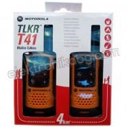 Радиостанция Уоки Токи MOTOROLA TLKR T41 до 4 км Оранжев цвят
