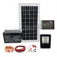 Портативна соларна система за дежурно осветление
