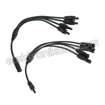 Комплект конектори MC4 Y 4в1 за фотоволтаични панели