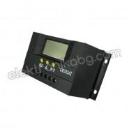 Контролер-регулатор за соларни панели 12V/ 24V/ 20A