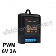 6V Контролер-регулатор за соларни панели PWM 3А