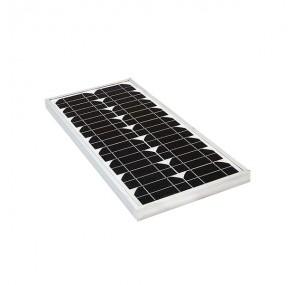 Соларен панел, слънчев, фотоволтаичен 20W/ 12V монокристален
