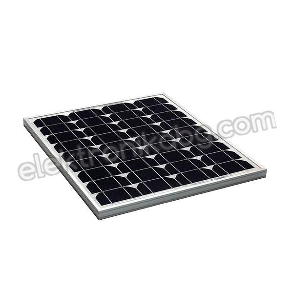 Соларен панел, слънчев, фотоволтаичен 40W/ 12V монокристален