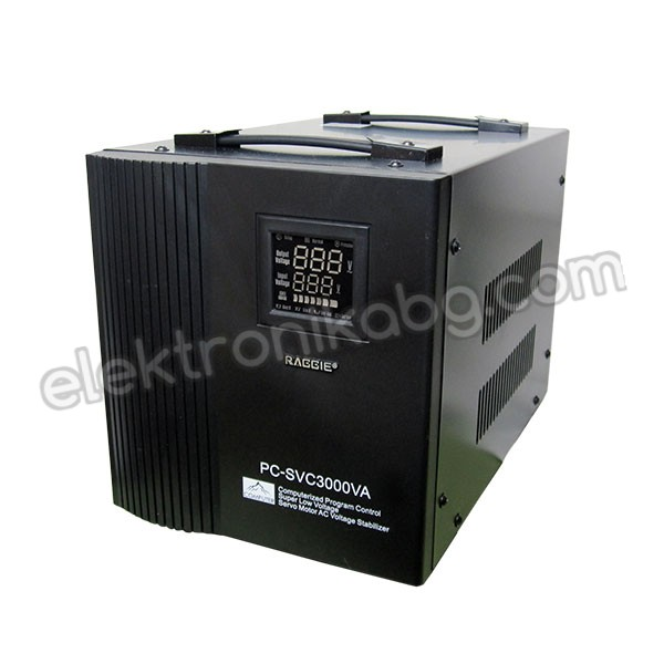 Auto AC Voltage Regulator with servo motor - 3000VA/220V