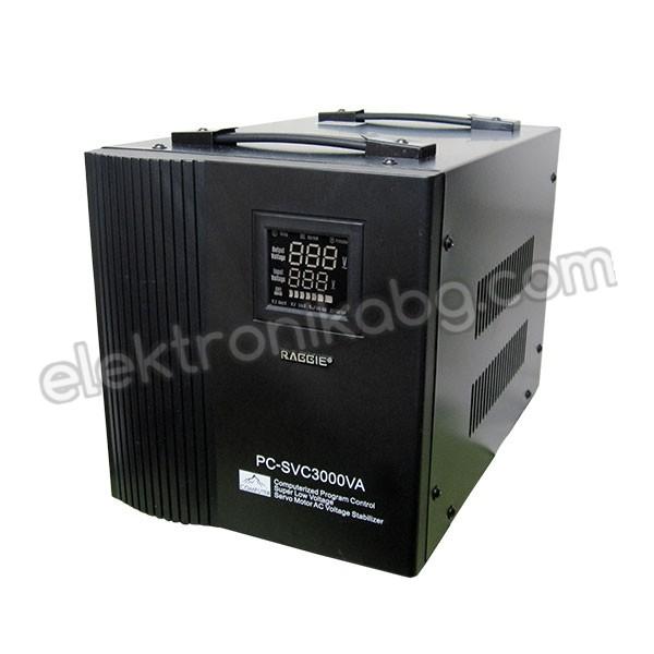 Auto AC Voltage Regulator with servo motor - 3000VA/220V
