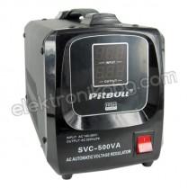 Стабилизатор на напрежение със сервомотор  350W 220V PITBULL