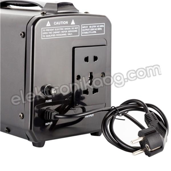 Стабилизатор на напрежение със сервомотор  1050W 220V PITBULL