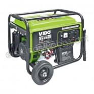 Монофазен бензинов генератор 5000W Wido WD060315500