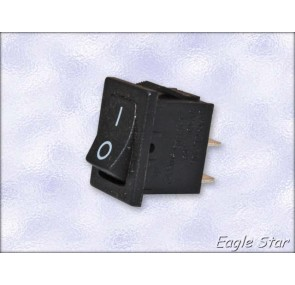 Прекъсвач on-off 6A 250V AC,  10A 125V AC SPST 2P