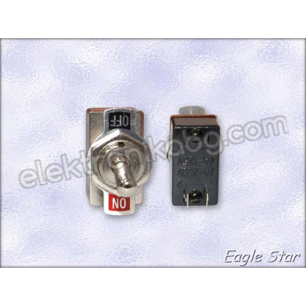 Цк ключе on-off 4A 125V AC,  2A 250V AC   SPST 2P