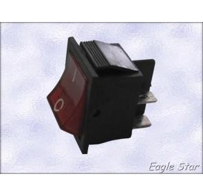 Ед.ключ  on-off 20A 125V ,  15A 250V  DPST 4P