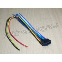 Букса за автокасетофон KENWOOD 16PIN