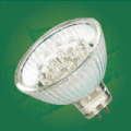 Energy saving led bulb  - MR16 38 LEDs - 1.30W / 12V